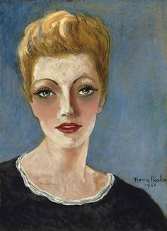 Francis Picabia (French, 1879-1953) - Suzanne Romain, 1943