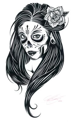 Creative Illustration, Adam, Isaac, Jackson, and Portrait image ideas & inspiration on Designspiration Skull Illustration, Creative Illustration, Art Illustrations, Chicano Drawings, Art Drawings, Adam Isaac Jackson, Barbarian Queen, Line Art, Dibujos Pin Up