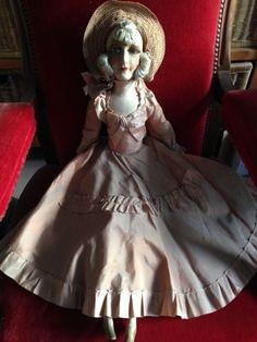 Ancienne poupée de salon 1920-1930 in Jeux, jouets, figurines, Poupées, vêtements, access., Poupées anciennes | eBay