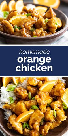 Better than take-out, this Orange Chicken Recipe is easy to make at home. It is full of flavor and will have you wanting more! #recipe #chicken #dinner #orangechicken