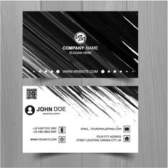free vector company name john doe business cards http www
