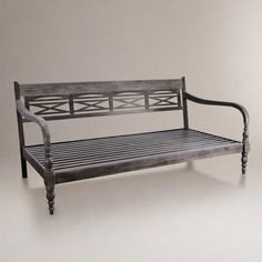 One of my favorite discoveries at WorldMarket.com: Indonesian Daybed Frame/want this for my reading room one day