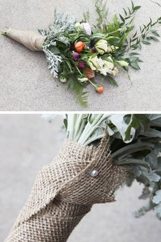 How to Arrange An Eclectic Wedding Bouquet | Click for 18 DIY Rustic Wedding Ideas on a Budget | DIY Rustic Wedding Decor Ideas
