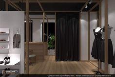 Thiết kế cửa hàng thời trang cần mang vẻ đẹp sang trọng, chuyên nghiệp. Không gian thiết kế nội thất cửa hàng bừng sức sống nhờ gam màu sắc từ thiên nhiên. Điểm đặc biệt của cửa hàng này là quầy thanh toán đặt ở trung tâm. Nhờ vậy hách hàng không cần phải đi xa mà dễ dàng thanh toán tại đây. #saokimdecor #boutique #fashion #showroom #shop #designshowroom #designshop #thờitrang #carpet #chair #table #interior #interiordesign #design #designs  #interiors #インテリア #interieur #innenraum #nộithất Interior S, Interior Design, Showroom, Curtains, Furniture, Shopping, Design Shop, Home Decor, Wolf