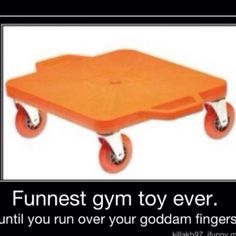 Only 90s kids would understand! I loved these! But we'd always get in trouble bc we'd try to ride them like skateboards and run into each other :p