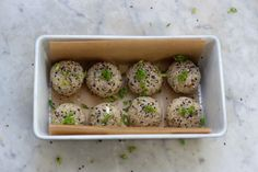 Sesame Almond Brown Rice Balls, #Almond, #Balls, #Brown, #Rice, #Sesame
