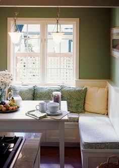 Good idea for small kitchen dining area