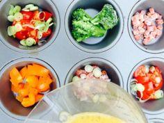 Rezept für deftige Eier-Muffins | Low-Carb-Ernährung