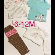 I just discovered this while shopping on Poshmark: GIRLS 6-12M BUNDLE, CARTERS…