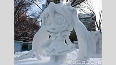 sculture di neve