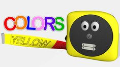 Learn colors with a talking tape measure - now with more colors!