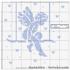 Filethäkeln - nur Muster Engel How To Care For Crystal Gifts, China And Flatware Here is a summary f Cross Stitch Fairy, Cross Stitch Angels, Xmas Cross Stitch, Cross Stitch Flowers, Cross Stitching, Cross Stitch Embroidery, Hand Embroidery, Cross Stitch Patterns, Smocking