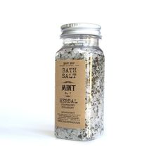 Bath salt  Mint by RightSoap on Etsy, $6.50