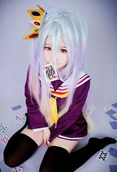cosplay shiro no game no life - Buscar con Google