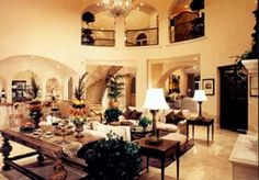 spanish style houses interior - Google Search