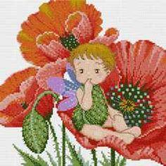 Little Poppy - 1/3 PUNTADITAS (pág. 190) | Aprender manualidades es facilisimo.com