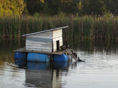 Floating Duck Shelters | Tuesday October 25th 2011: