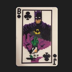 The Killing Joke perler beads by misscrystal15