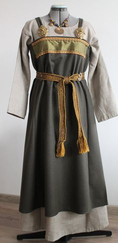 Viking age apron dress by NornasMystery on Etsy                                                                                                                                                                                 More