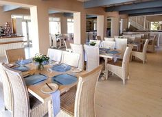 Restaurant at resort Outdoor Furniture Sets, Outdoor Decor, Restaurants, Table Decorations, Home Decor, Decoration Home, Room Decor, Restaurant, Dinner Table Decorations
