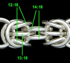 Tryzantine chainmaille