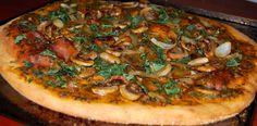 Vegan Tomato/Basil/Mushroom Pizzas