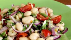 Salata de fasole boabe uscate Healthy Meal Prep, Healthy Salad Recipes, Vegetarian Recipes, Cooking Recipes, Healthy Food, Romanian Food, Gluten Free Recipes, Potato Salad, Food And Drink