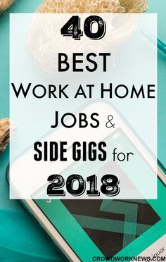 If you are looking for legitimate work at home jobs to start in 2018, then you have come to the right place. Check out this massive list of best work at home jobs and side gigs you can start in the new year. #workfromhome #onlinebusiness #remotework