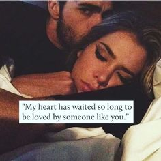 My heart has waited so long to be loved by someone like you love love quotes quotes quote love images love pic hug quotes love pic images love. One Love Quotes, Soulmate Love Quotes, Sweet Love Quotes, Romantic Love Quotes, Famous Love Quotes, Couple Quotes, Favorite Quotes, True Love Waits Quotes, My Heart Quotes