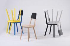 Stoel EMKO naive chair - Hoeked