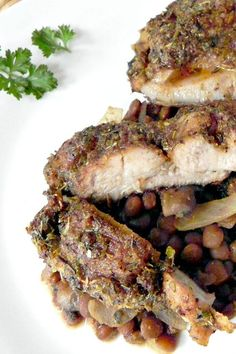 Cajun Blackened Chicken Thighs, these thighs are full of Cajun flavor and super inexpensive. The spices are probably in your cabinet right now! Make some!