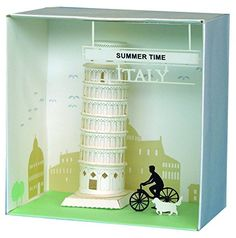 Leaning Tower of Pisa paper nano japan import * Want to know more, click on the image.