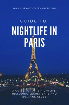 When I lived in Paris, I loved going out and finding cool bars and clubs throughout the city! From secret bars to crazy nightclubs, this guide will give you tips for a great night out in Paris, inc…