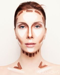 This highlighting and contouring is perfect for my face shape!