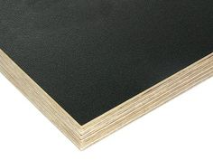 Polypropylene Faced Plywood: Black polypropylene on birch plywood Volkswagen Bus Interior, Victorian Stairs, Plywood Kitchen, Rear Extension, Material World, Birch Ply, Kitchen Upgrades, Woodworking Projects, Face
