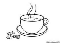 coffee coloring pages - Bing Images