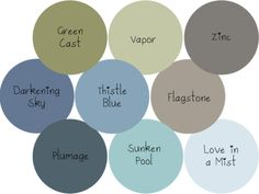 Paint Colors for living room/kitchen or basement