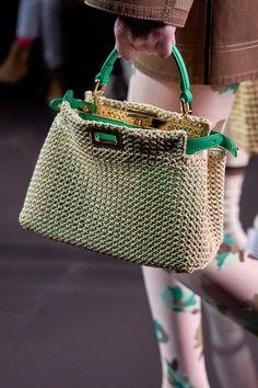 Fendi Spring/Summer 2020 – purses and handbags totes Tote Handbags, Purses And Handbags, Leather Handbags, Cheap Handbags, Guess Handbags, Leather Totes, Fossil Handbags, Guess Purses, Cute Purses