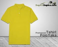Polo Yaka T-shirt Sarı