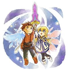 Tales of Symphonia | Colette and Lloyd