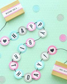 Shake My Blog | Une carte d'anniversaire en boîte
