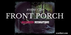 Here are quick ways to solve your problems with front porch halloween decoration…