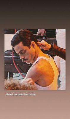 Rami Malek Freddie Mercury, Rami Malik, Queen Movie, Roger Taylor, Man Crush Everyday, Killer Queen, Keanu Reeves, Johnny Depp, Cool Bands