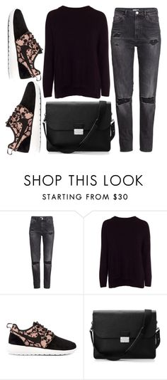 """Set#294"" by sobiyet ❤ liked on Polyvore featuring H&M, New Look, NIKE and Aspinal of London"