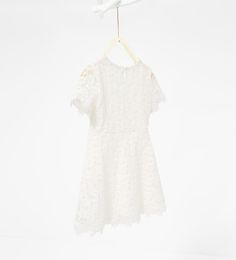 Image 2 of Guipure lace dress from Zara