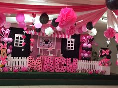 Minnie Mouse Theme Party, Birthday Party Themes