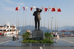 Ataturk Statue Square in Marmaris
