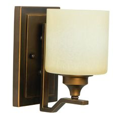 Craftmade Montreal 14506 Wall Sconce   A Metropolitan Bronze Finish Gives  The Linear Craftmade Montreal 14506 Wall Sconce Its Sophisticated Glamour.