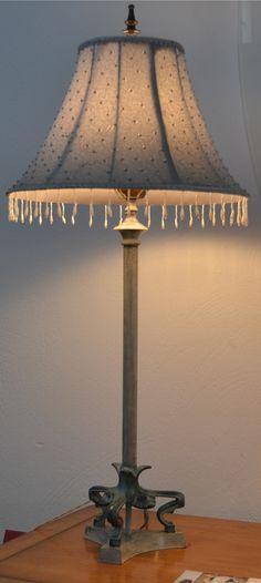 Lámpara sobremesa  md.300-12 Medidas:  0,80 alto.Unidades disponibles 2