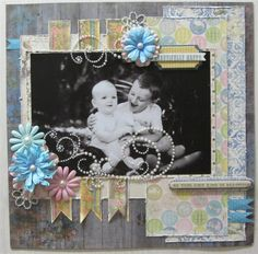 Bo Bunny: April LAYOUT CHALLENGE - March Winner